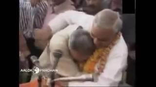 Rare video:  Narendra Modi meets Atal Bihari Vajpayee