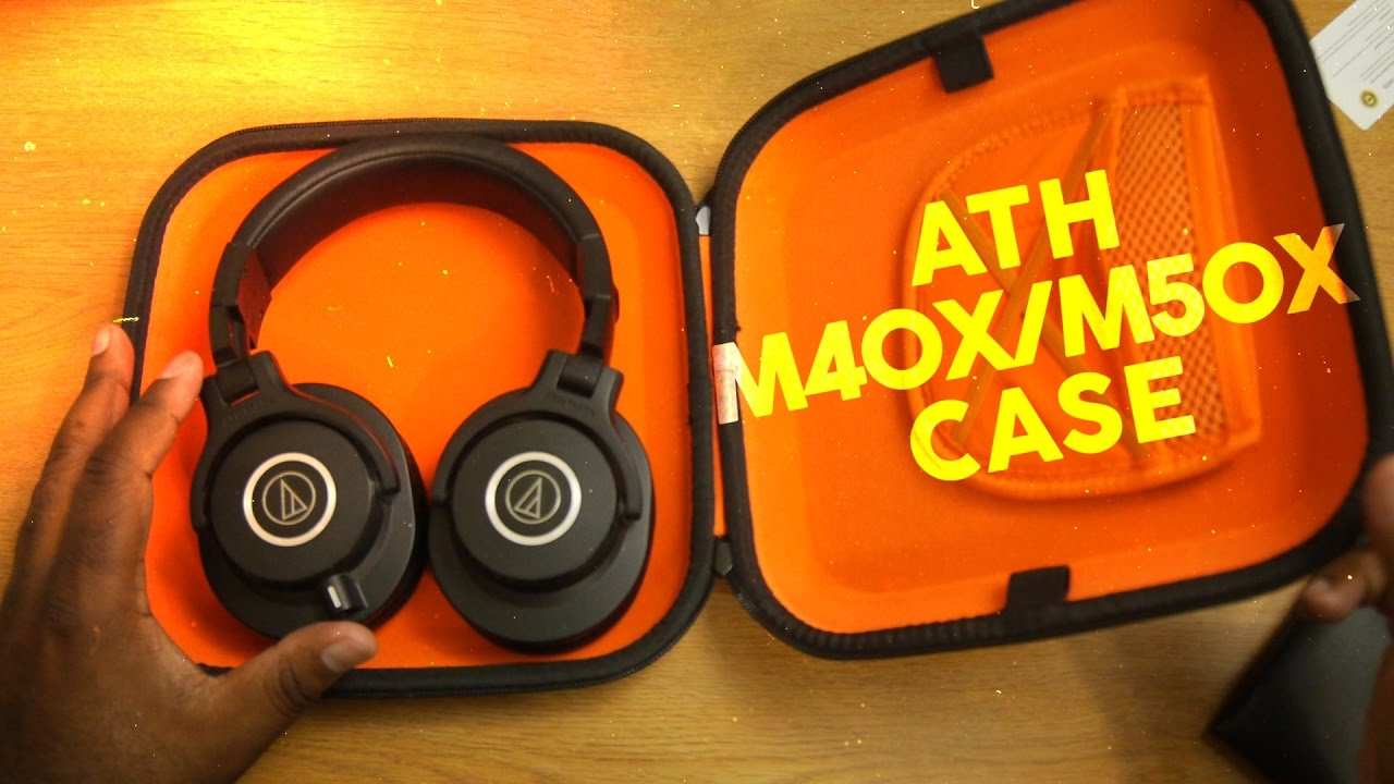 f33774c13c8 ATH M40X/M50X Case Option from Geekria - YouTube