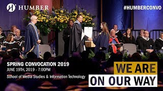 Humber Spring 2019 Convocation - School of Media Studies and Information Technology