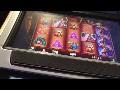 Montezuma Slot Bonus Max Bet - Harrahs New Orleans with RETRIGGERS!