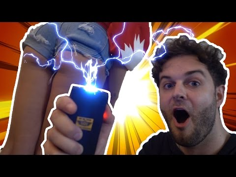 I CAN'T BELIEVE SHE DID THIS! *TASER PRANK*