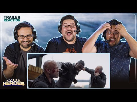 Fast & Furious Presents: Hobbs & Shaw - Official Trailer #2 Reaction