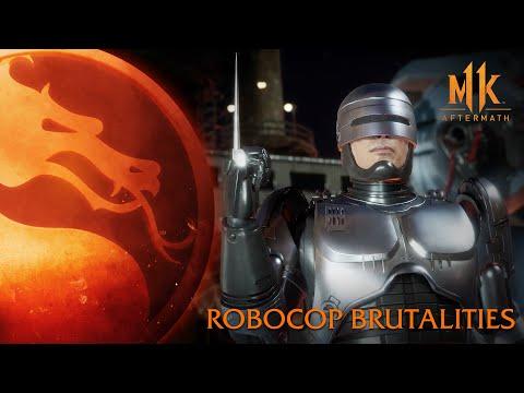 Mortal Kombat 11: Aftermath - RoboCop Brutalities