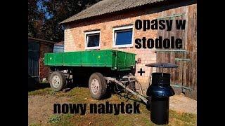 Rolniczy Vlog: Byki w stodole i nowy ciągnik w gospodarstwie