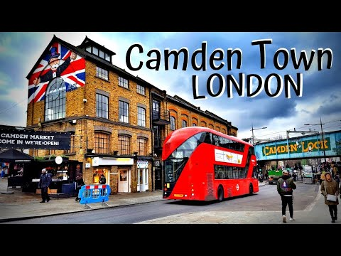 London Camden Town - LONDON UK [Video Travel Guide]