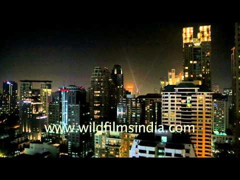 High rises in Bangkok's Ratchaprasong area