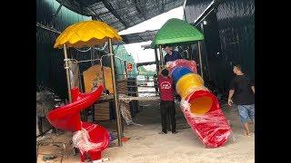 Xưởng sản xuất đồ chơi ngoài trời Hà Huy