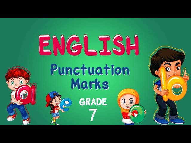 English | Grade 7 | Punctuation Marks | Capital letters, Commas and Full Stop (Writing)