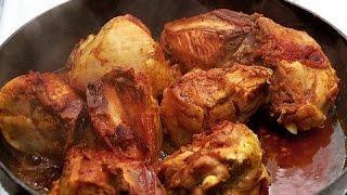 Курица в соевом соусе (запеченная в аэрогриле)