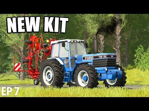 NEW KIT | Farming Simulator 17 | The Valley The Old Farm - Episode 7
