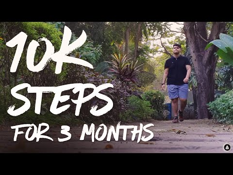 Walking 10000 Steps a Day For 3 Months | Walking For Weight Loss Challenge