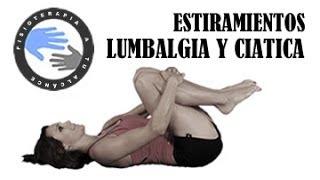 Repeat youtube video Lumbalgia y ciatica, estiramientos para aliviar el dolor