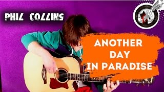 Another day in paradise - fingerstyle guitar (видеоурок)