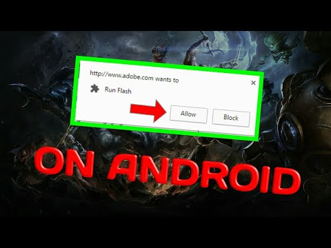 Run FLASH Player On Android ! (Tutorial)
