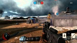 Star Wars Battlefront Beta - Drop Zone Gameplay (PC) - 1080p GeForce GT 650M