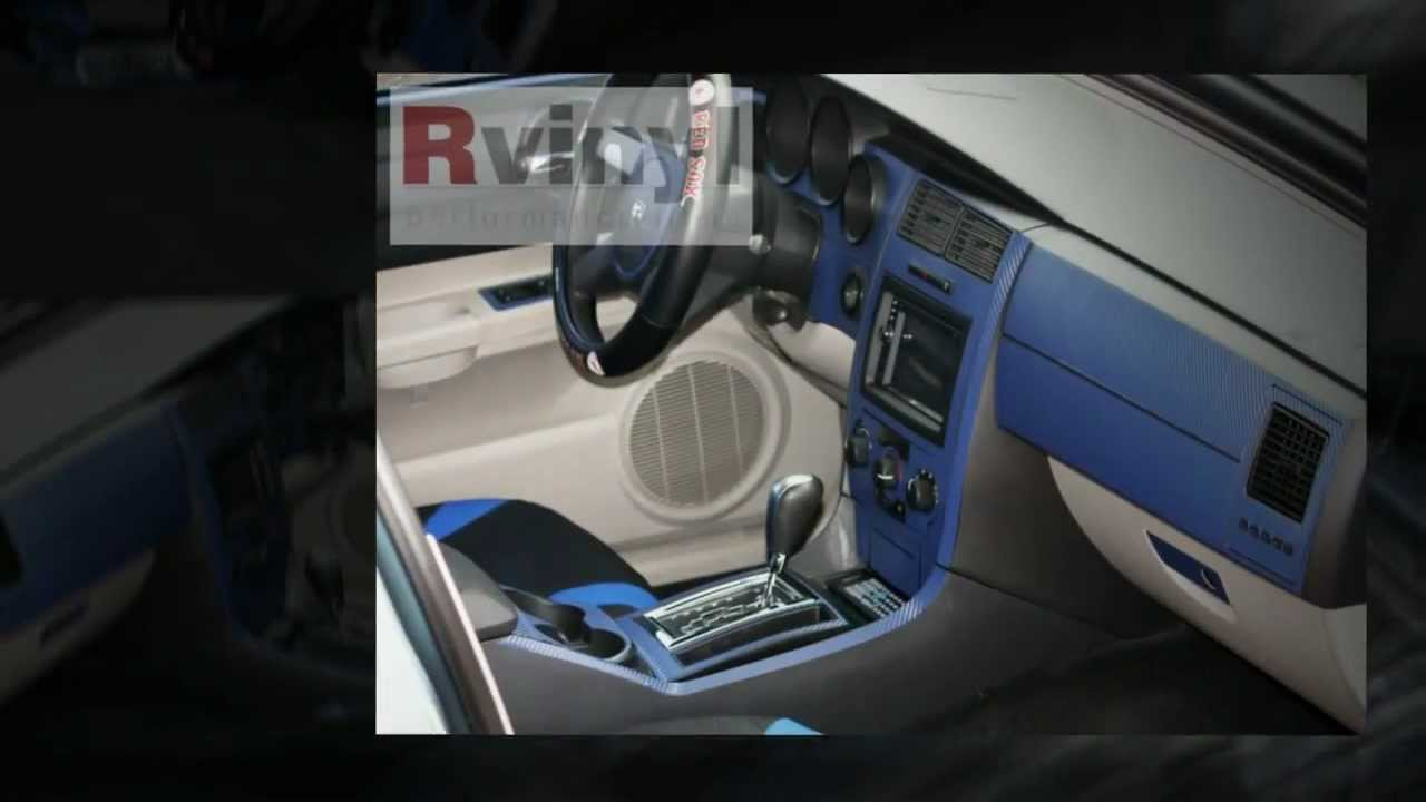 Dash Kits   Carbon Fiber Dodge Charger   Install Video   YouTube