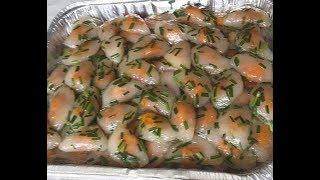 Bánh bột lọc trần - New York / Shrimp tapioca cake