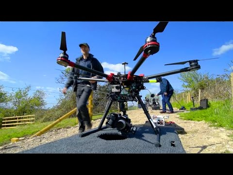 Behind The Scenes look at live aerial drone filming