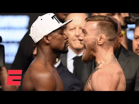 (FULL) Floyd Mayweather vs. Conor McGregor Weigh-In | ESPN