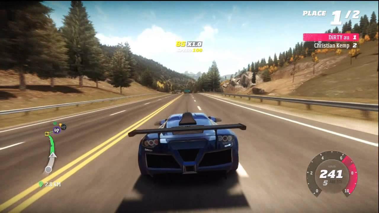 Forza Horizon - Driving Gumpert Apollo - YouTube