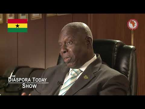 Ghana Open for Business: Ambassador Dr. Barfour Adjei-Barwuah on DIASPORA TODAY SHOW
