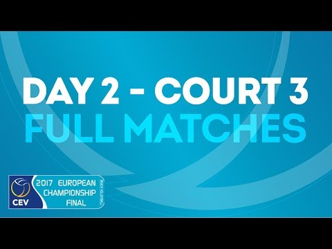 Full Matches | 2018 CEV Beach Volleyball European Masters Pelhrimov - Day 2