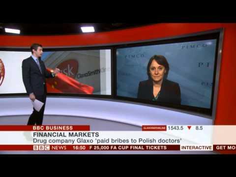 GSK stock market after bribe disclose 14 04 2014
