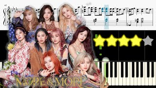 트와이스 (TWICE) - MORE & MORE 《Piano Tutorial》 ★★★★☆