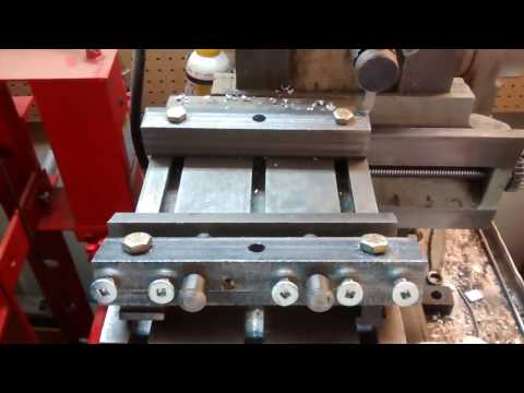 """Bed vice for 7"""" Shaper"""