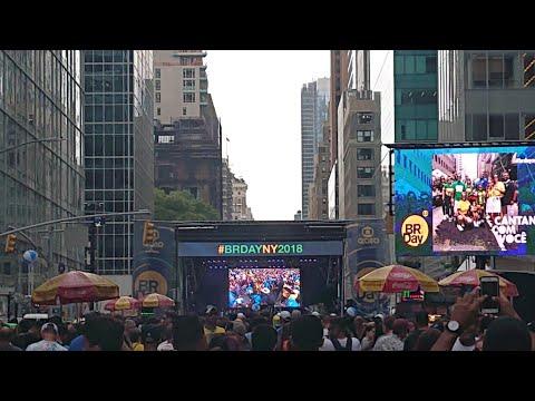 Brazil Day 2018 Brazilian New York City - September 2 - Crowd Real Sounds - Unedited