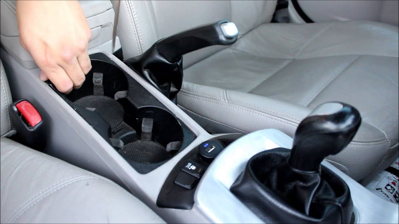 Volvo S40, Cup Holder Removal - YouTube