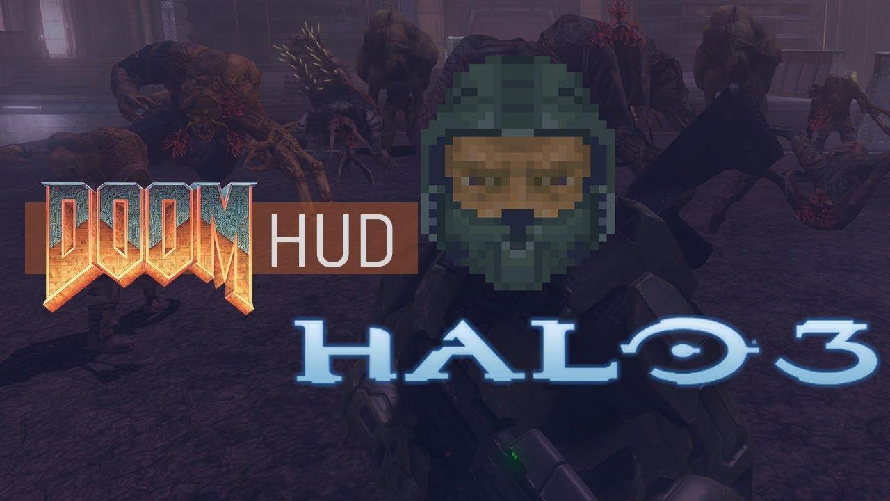 Halo 3 - Doom HUD Replacement Mod