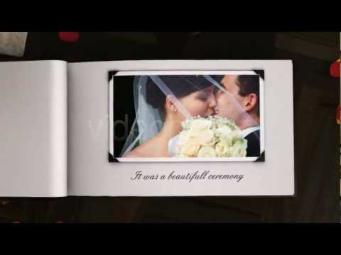 THE 3D PHOTO ALBUM BOOK - AFTER EFFECTS TEMPLATE