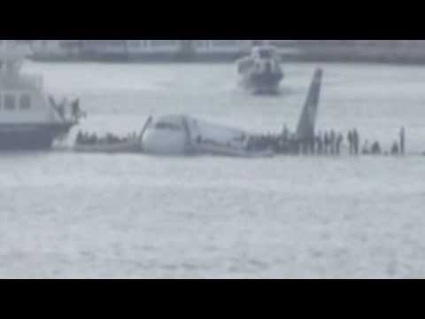Plane Crash - Airbus Lands On Hudson River In New York