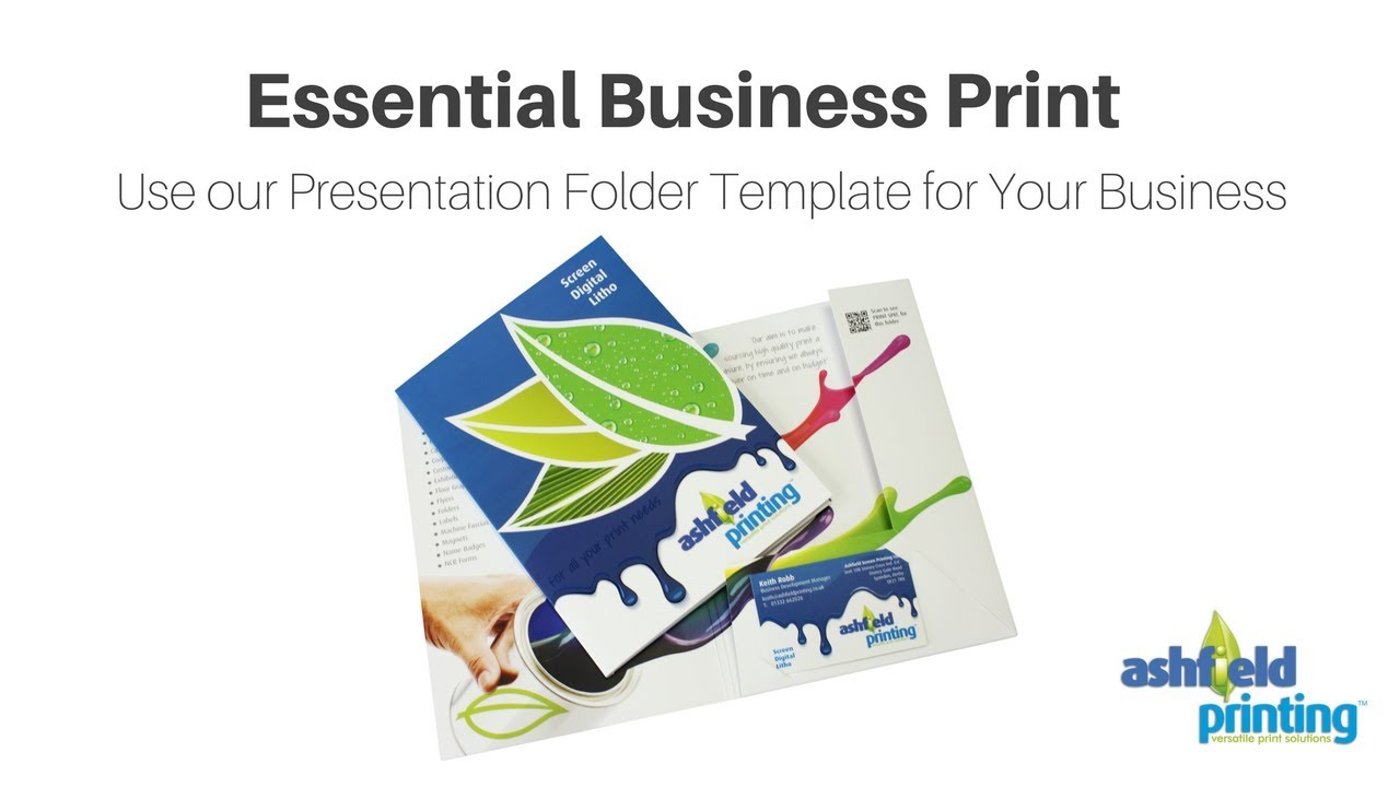 Essential business print use our presentation folder template for essential business print use our presentation folder template for your business accmission Images