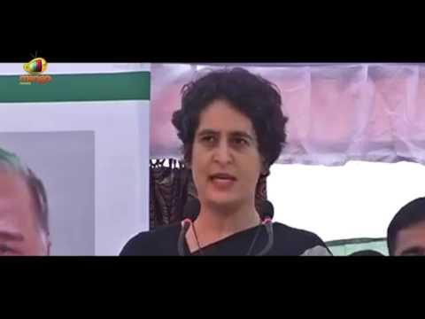 Priyanka Gandhi Addresses Public Rally With Rahul Gandhi In Maharajganj | UP Polls | Mango News