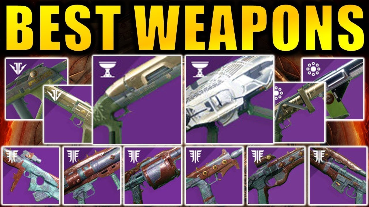Destiny 2 Best Iron Banner Weapons Pvp Pve God Rolls Season Of Opulence Youtube
