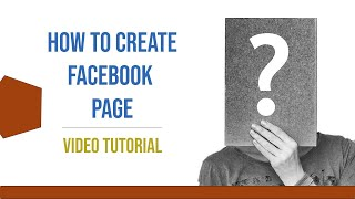 Comment créer un Facebook Page ll Jignesh Illustration ll HD 2019
