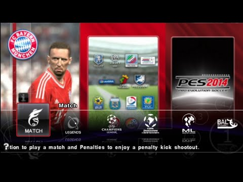 PES 2014 - Android Offline Gameplay (PES PPSSPP MOD PS3)