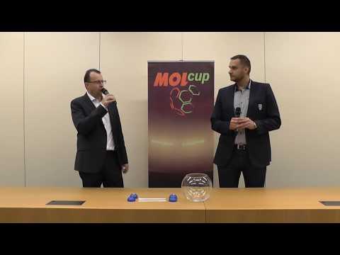 MOL CUP - los domácího a hostujícího týmu pro finále
