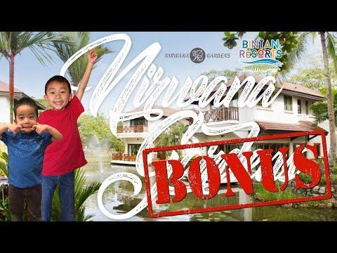 Nirwana Gardens Banyu Biru Villa on Bintan Resort Island