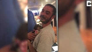26-Year-Old Veteran Sobs When He's Surprised With Puppy To Help Relieve PTSD