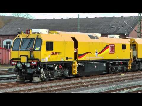 Schienenschleifzug DB Netze