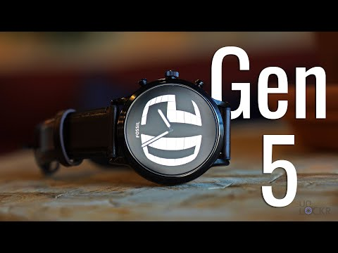 fossil-smartwatch-gen-5-complete-walkthrough:-new-flagship-wearos-watch?
