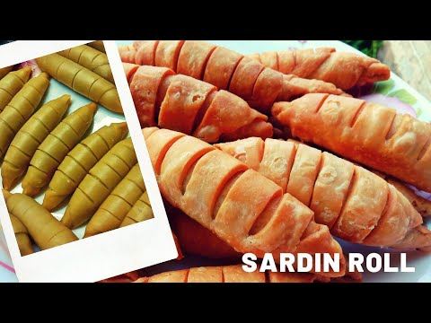 Cara Buat Sardin Roll Yang Sangat Crunchy Dan Tidak Lemau Youtube