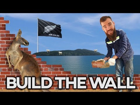 BUILD THE WALL! - Between Australia and New Zealand