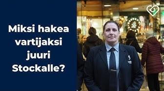 Miksi hakea vartijaksi juuri Stockmann Security Servicesille?⎪Duunitori