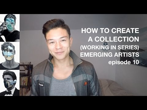 How to Create a Collection of Paintings (working in series) - Emerging Artists - Episode 10