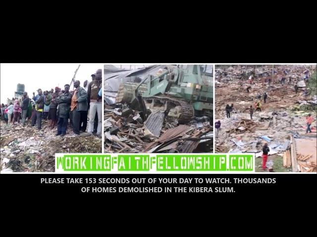 Help us Buy 4 Huts Under Kibera Slum Church - $1000 Match