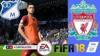 FIFA18 MILLONARIOS Vs LIVERPOOL ! 2018 Capitulo#40 Liga Europea Austin